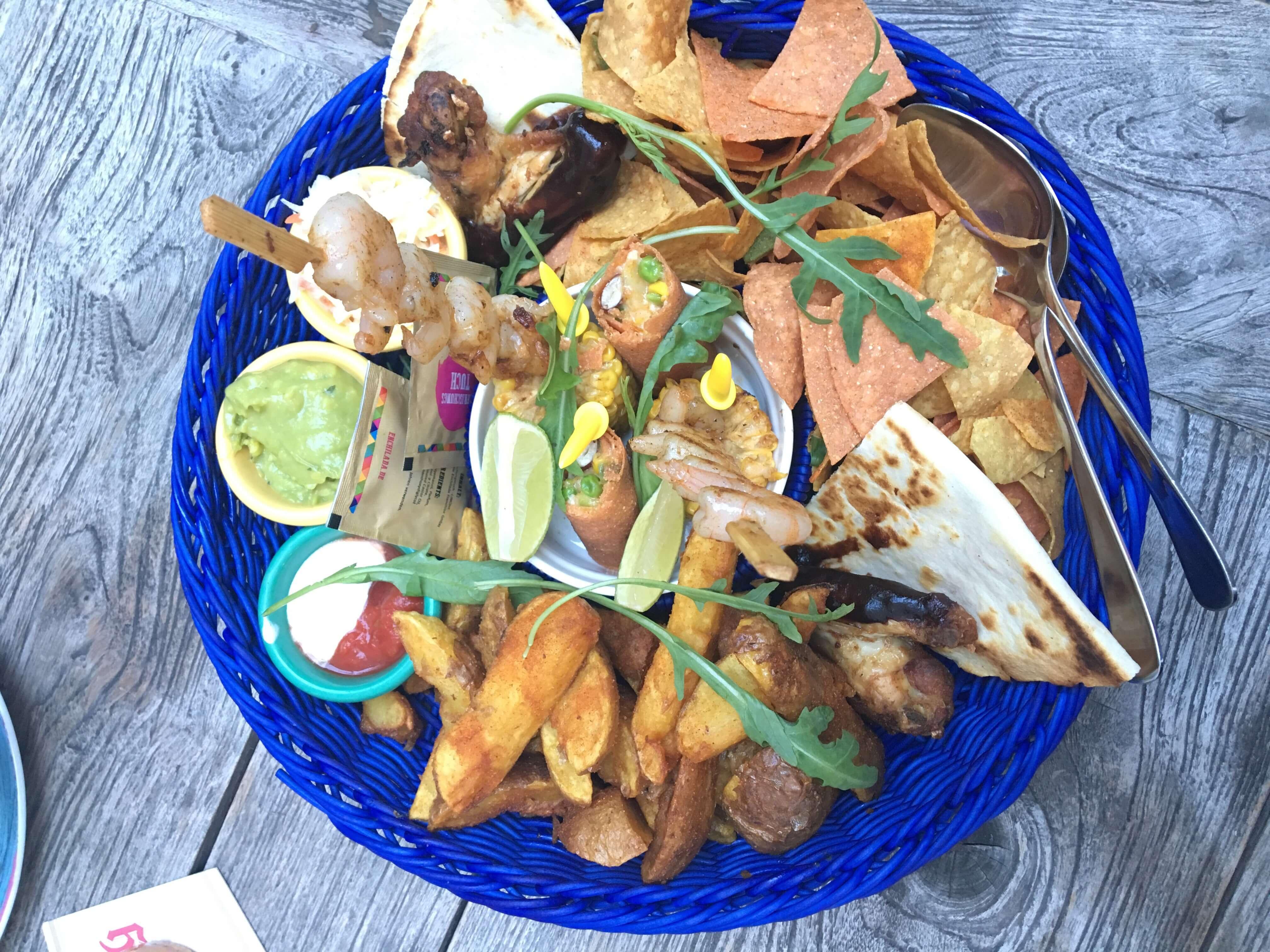 Vorspeiseteller für 2 im Enchilada