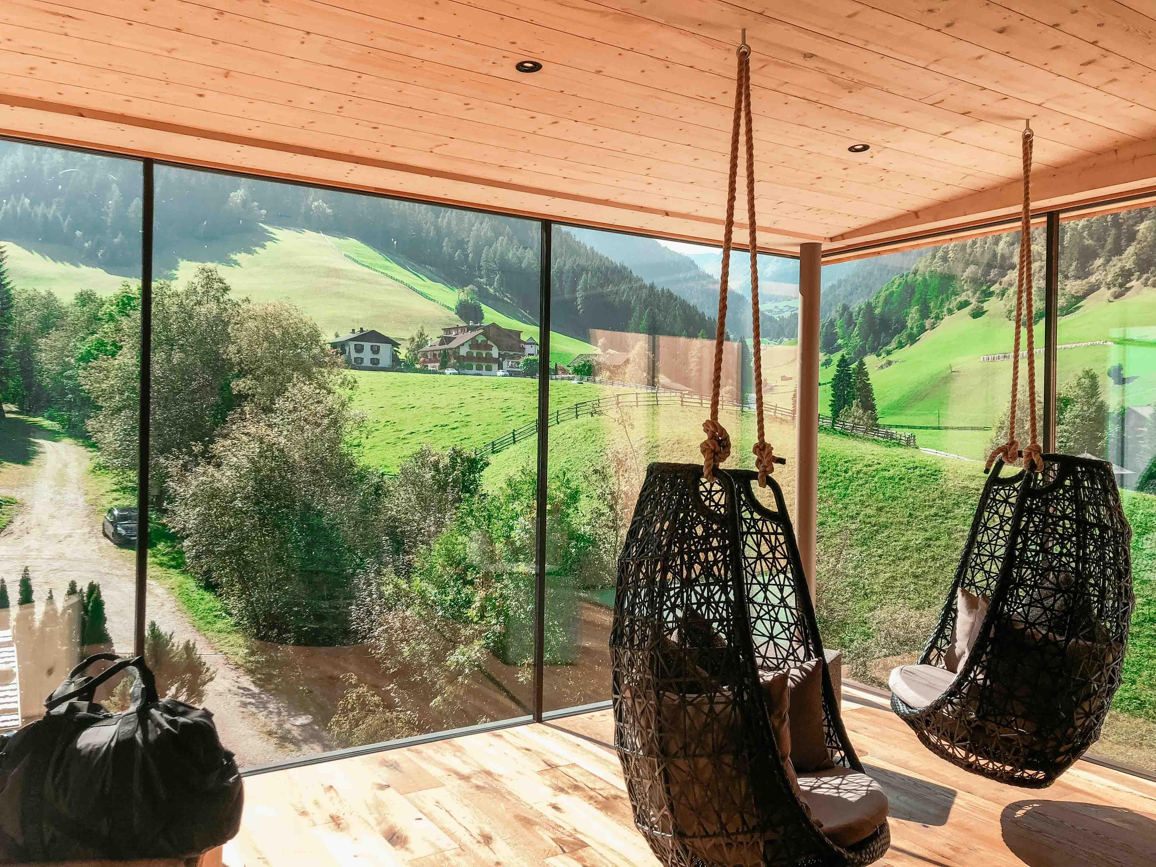 Ausblick vom Panoramazimmer